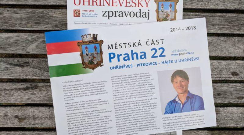 Uhříněveský zpravodaj podruhé aneb demokracie má mnoho podob